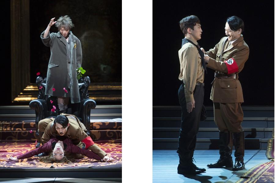 舞台『アドルフに告ぐ』 写真/引地信彦、提供/KAAT神奈川芸術劇場
