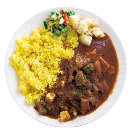「谷口カレー」の魚介と野菜からとっただしで勝負したチキンカレー800円