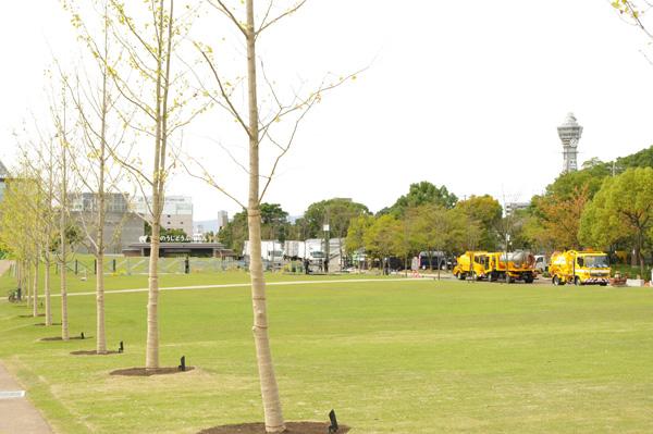 多目的に使える公園へと進化