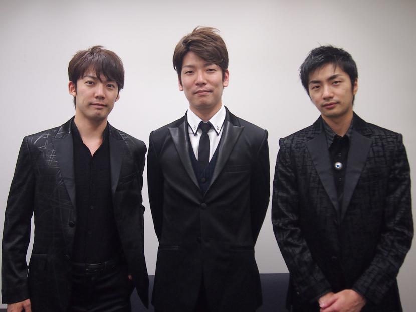 左から、TAIRIKU、SUGURU、KENTA