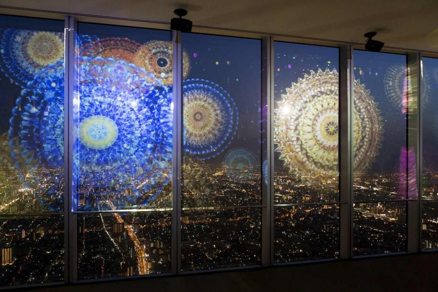 夜景と3Dプロジェクションマッピングを融合させた「CITY LIGHT FANTASIA by NAKED.」