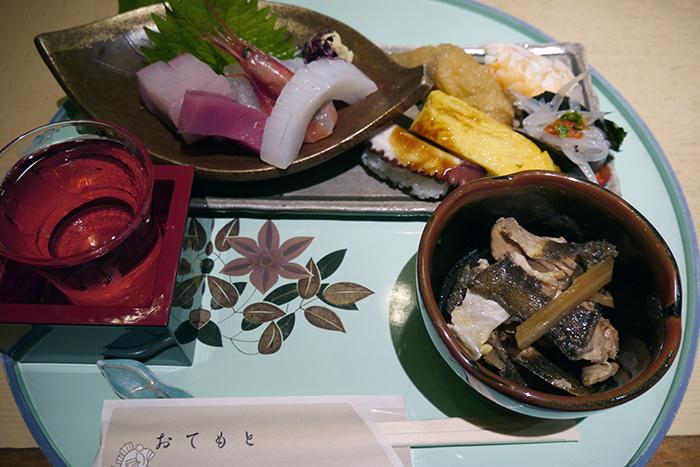 「すし駒」のセットメニュー・1,000円