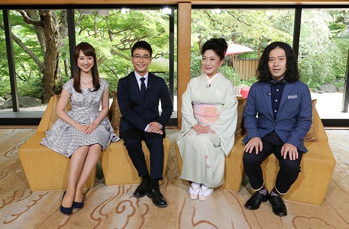 (写真左から)川田裕美、八嶋智人、山村紅葉、又吉直樹(ピース)