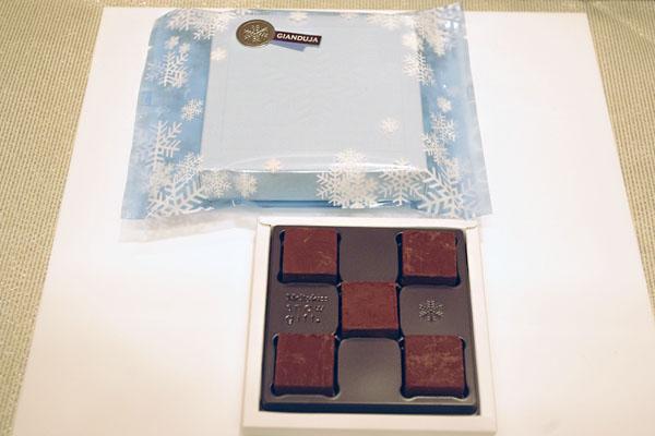 明治の冬期限定チョコレート「メルティーキッス」