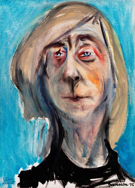 トーベ・ヤンソン《自画像》 1975 年 個人蔵 © Tove Jansson Estate