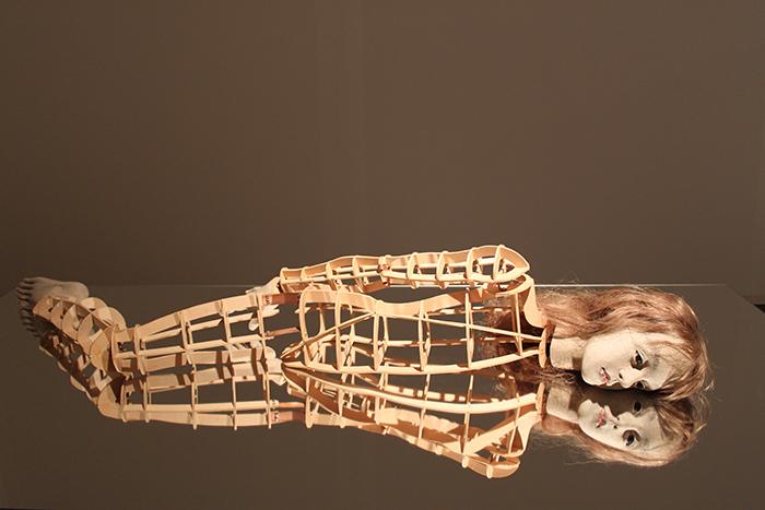 ROOM3「木枠」の展示風景