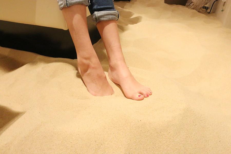 砂は衛生面での問題はないとのこと