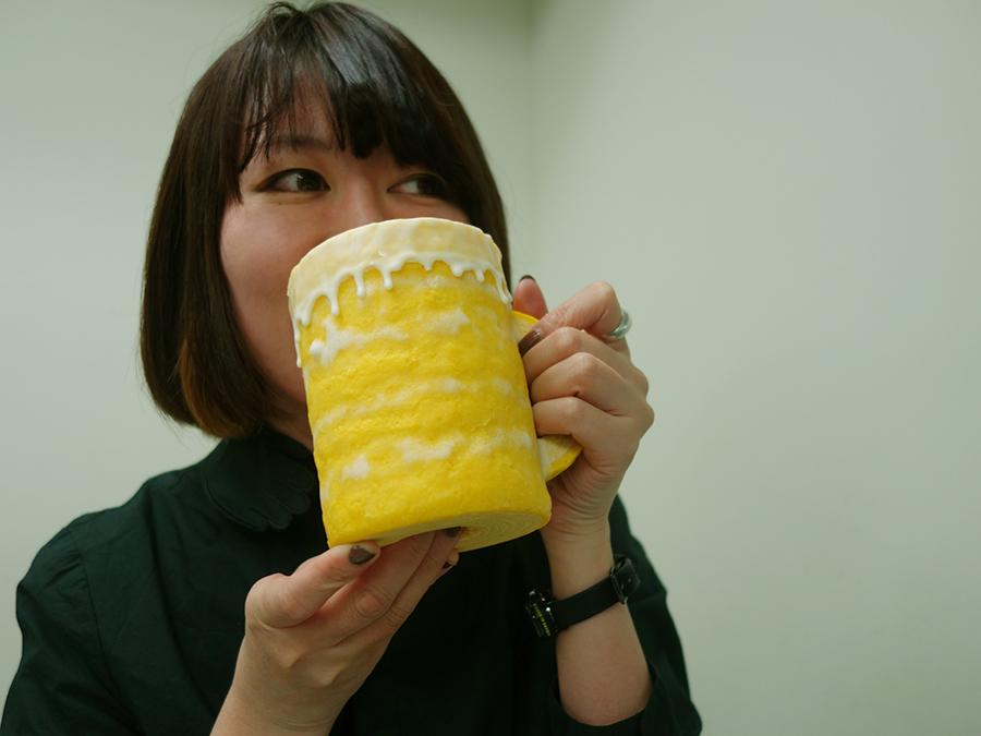 見て、撮って、食べて楽しい「乾杯! ビアクーヘン」