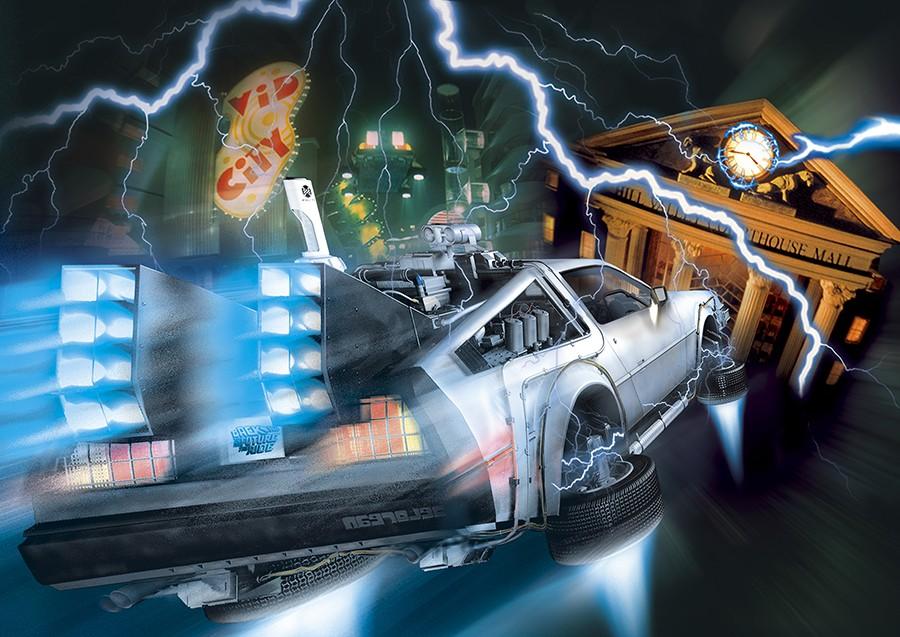 「バック・トゥ・ザ・フューチャー・ザ・ライド」® & © Universal Studios/U-Drive