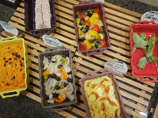 ホテルピエナ神戸で提供している朝食ビュッフェ