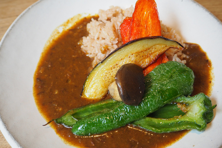 京野菜のビーフカレーライス1,300円