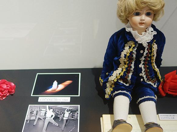 8月の台湾公演帰りのシュテファン人形も
