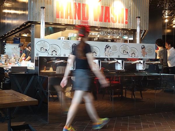 グランフロント大阪にオープンした「ダンシングクラブ」