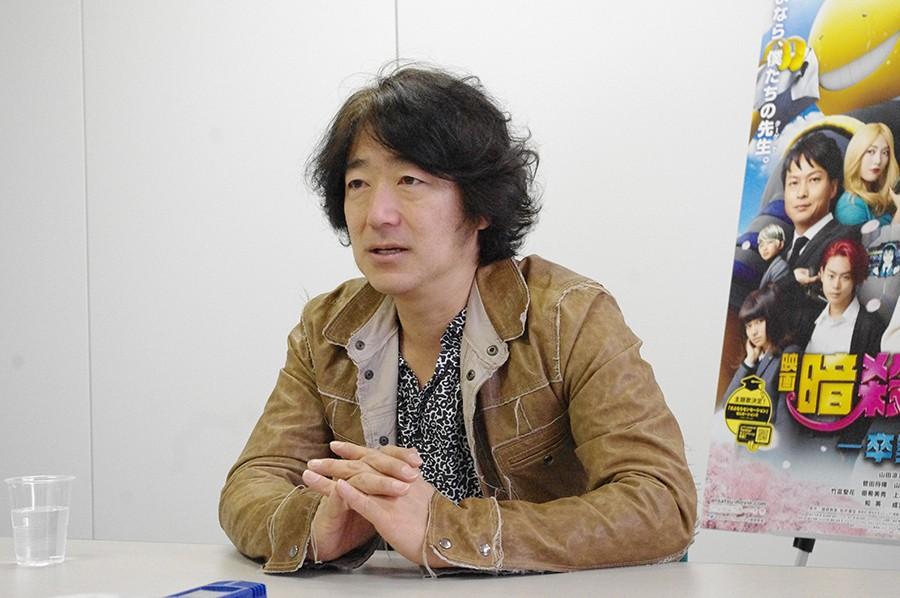 「映画は商品、パッケージ作りをやらないと」と語る羽住英一郎監督