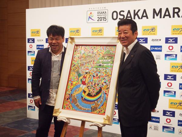 同じ八尾市出身で同い年の大阪府知事の松井一郎とジミー大西