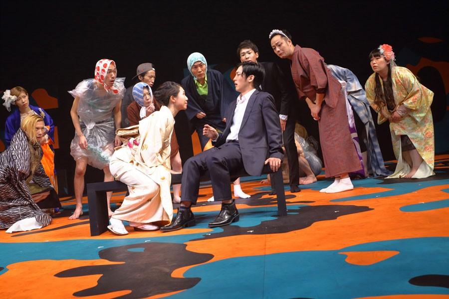 木ノ下歌舞伎『三人吉三』 写真/Toshihiro Shimizu