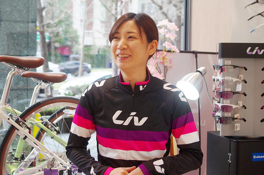 サイクルショップ「リブジャイアント」の松川優子さん