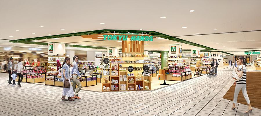 東急ハンズ奈良店の店舗予想図