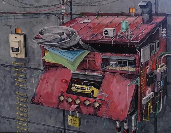 「ポストガレージ」