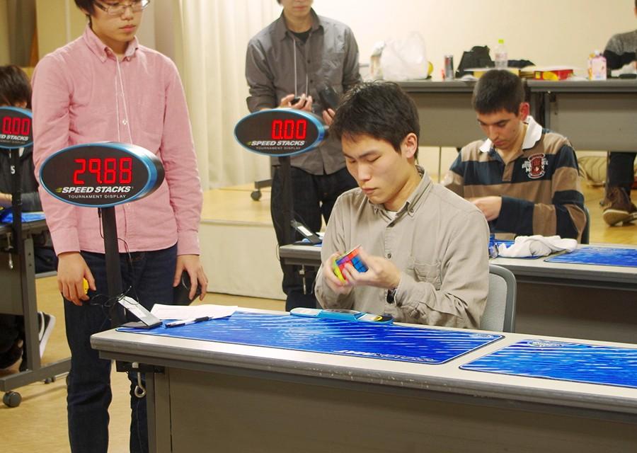 無駄のない回転と正確な面揃えで、過去の記録を0.8秒上回る27秒53で日本記録を樹立した伊藤さん