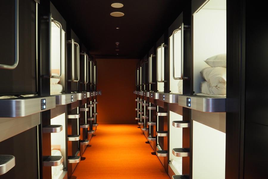 大阪・難波にオープンするカプセルホテル、女性フロアの客室は40室