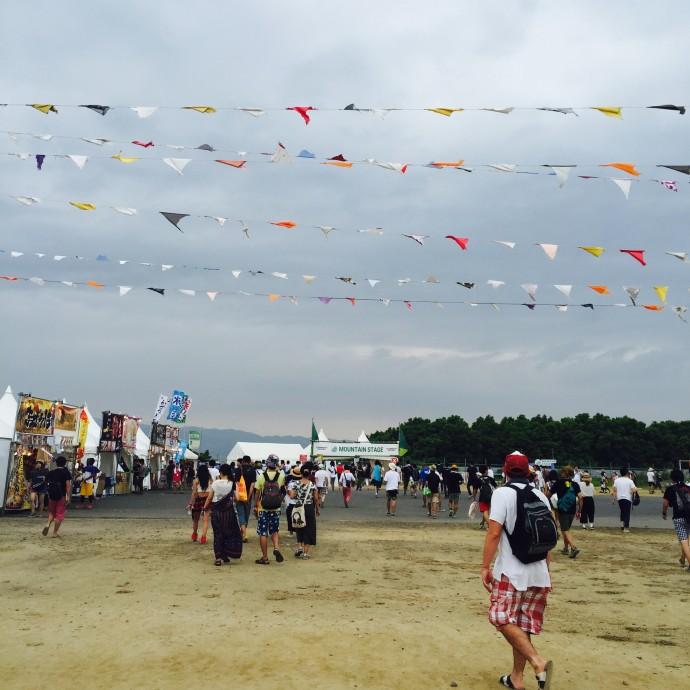 大阪・舞洲で開催された「SUMMER SONIC 2015 OSAKA」