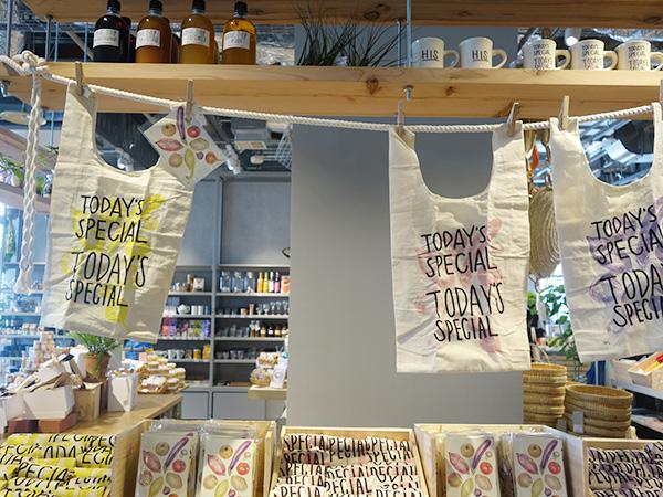 「TODAY'S SPECIAL」の京都店限定マルシェバッグは数量限定。人気となりそうなのでお早めに