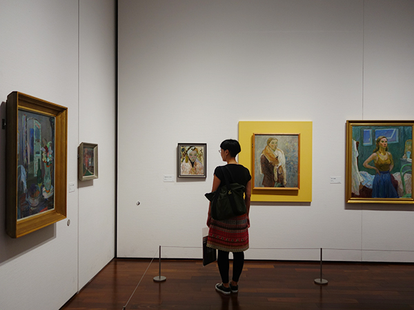 幼少期の作品からムーミンが誕生するまでの画家としての活動も貴重