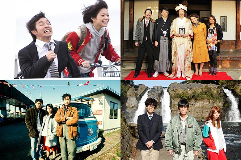 (上段左から)佐藤快磨監督『壊れ始めてる、ヘイヘイヘイ』、ふくだももこ監督『父の結婚』、(下段左から)藤井悠輔監督『罪とバス』、堀江貴大監督『はなくじらちち』©2016 VIPO