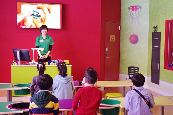 子ども向けの「マスター・ビルダー・アカデミー」