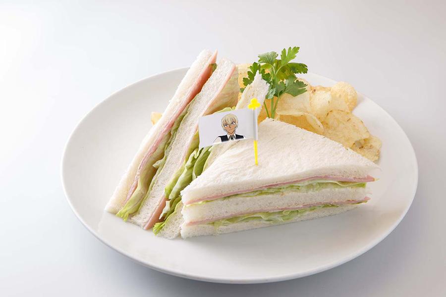 「安室透のお手製サンドイッチ」(2.5次元フィギュア付・種類はランダム)1,274円