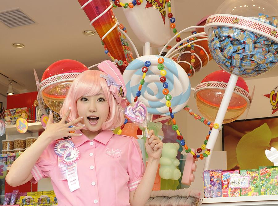「CANDY☆A☆GO☆GO」のオープンを記念し、4月23日に外務省認定カワイイ大使!木村優さんとのコラボイベントも予定