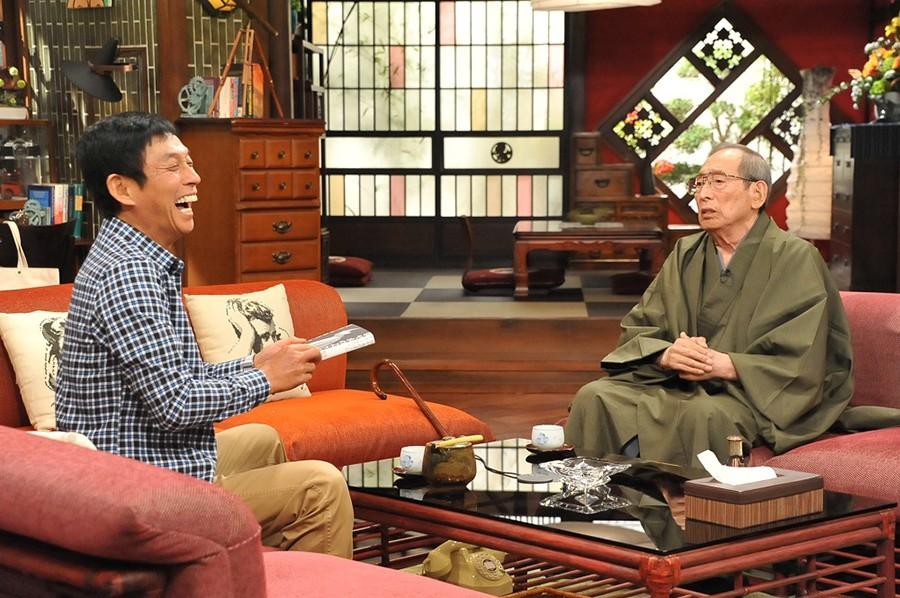 番組史上最高齢ゲストとなる、90歳の笑福亭松之助