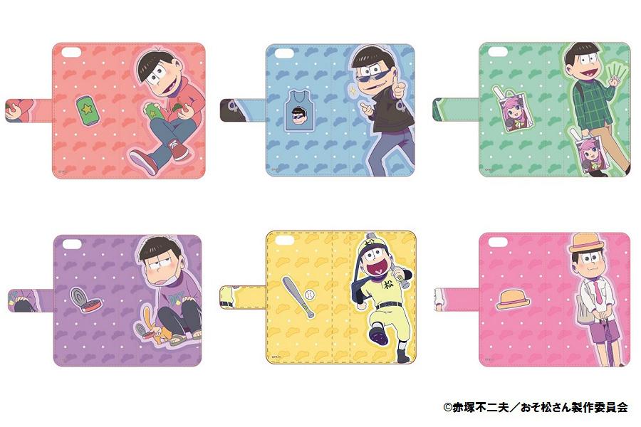 iPhone6/6sケース手帳型(6種)各4,320円 ※4/23発売予定