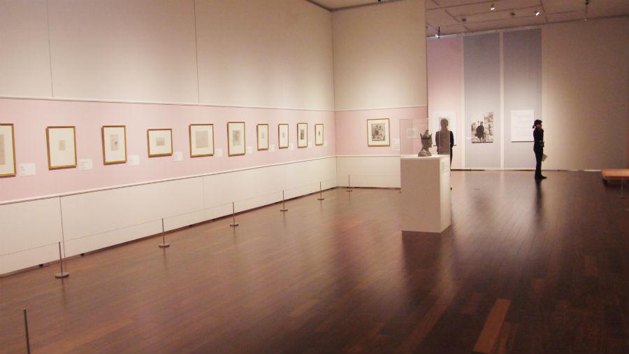 「バラ色の時代」には版画作品も数多く手掛けた。