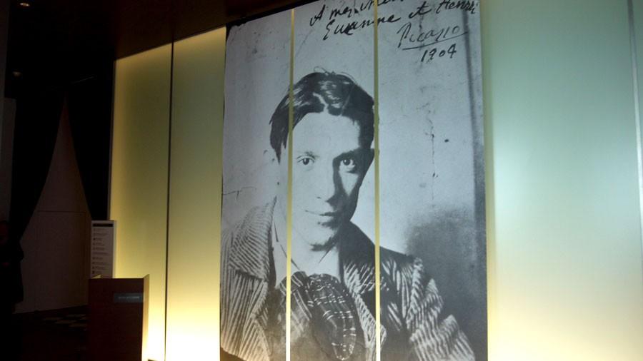若き日のパブロ・ピカソ(1881 - 1973)『ピカソ、天才の秘密展』にて