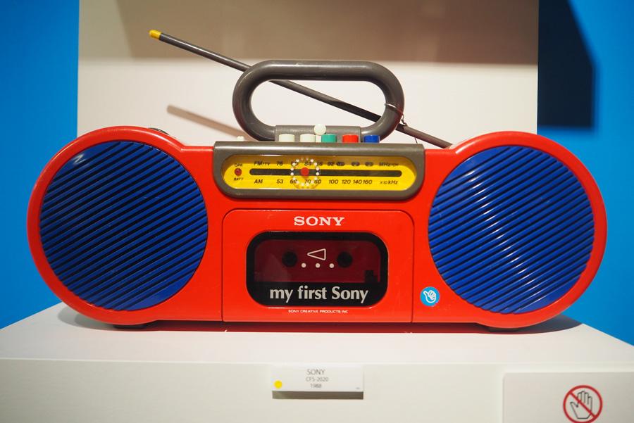 80年代に誕生。「MY first SONY」といったコンセプトを元にSONYふぁ作ったオリジナルラジカセ