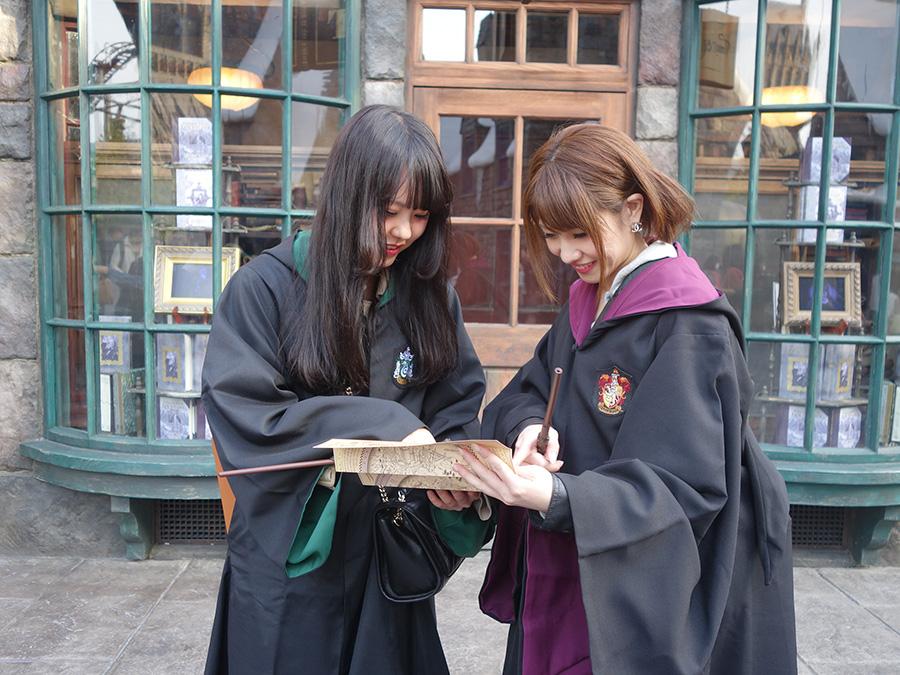 魔法を練習するためには、「マジカル・ワンド」の所有者のみもらえる地図でチェック