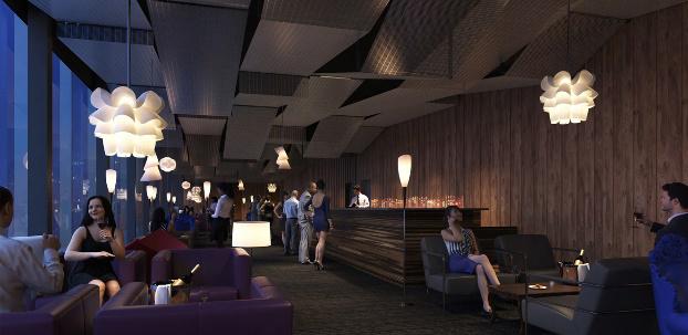 「ホテルロイヤルクラシック大阪」(仮称)のイメージ図
