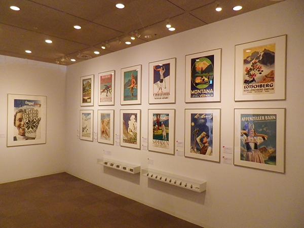 「スイスデザイン展」より、歴代観光ポスターの名品