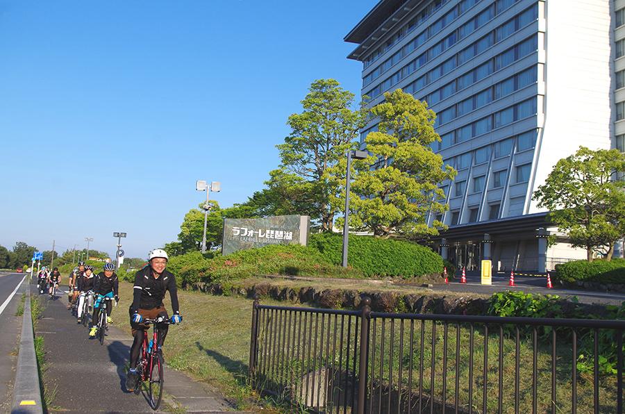サイクリストをバックアップする滋賀のホテル「ラフォーレ琵琶湖」