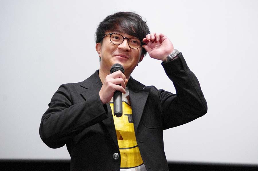 映画「ヒメアノ〜ル」の舞台挨拶(5月24日・大阪市)に登場した濱田岳