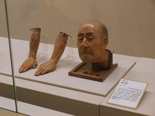 松本喜三郎「池之坊」明治4年(1871) 大阪歴史博物館蔵