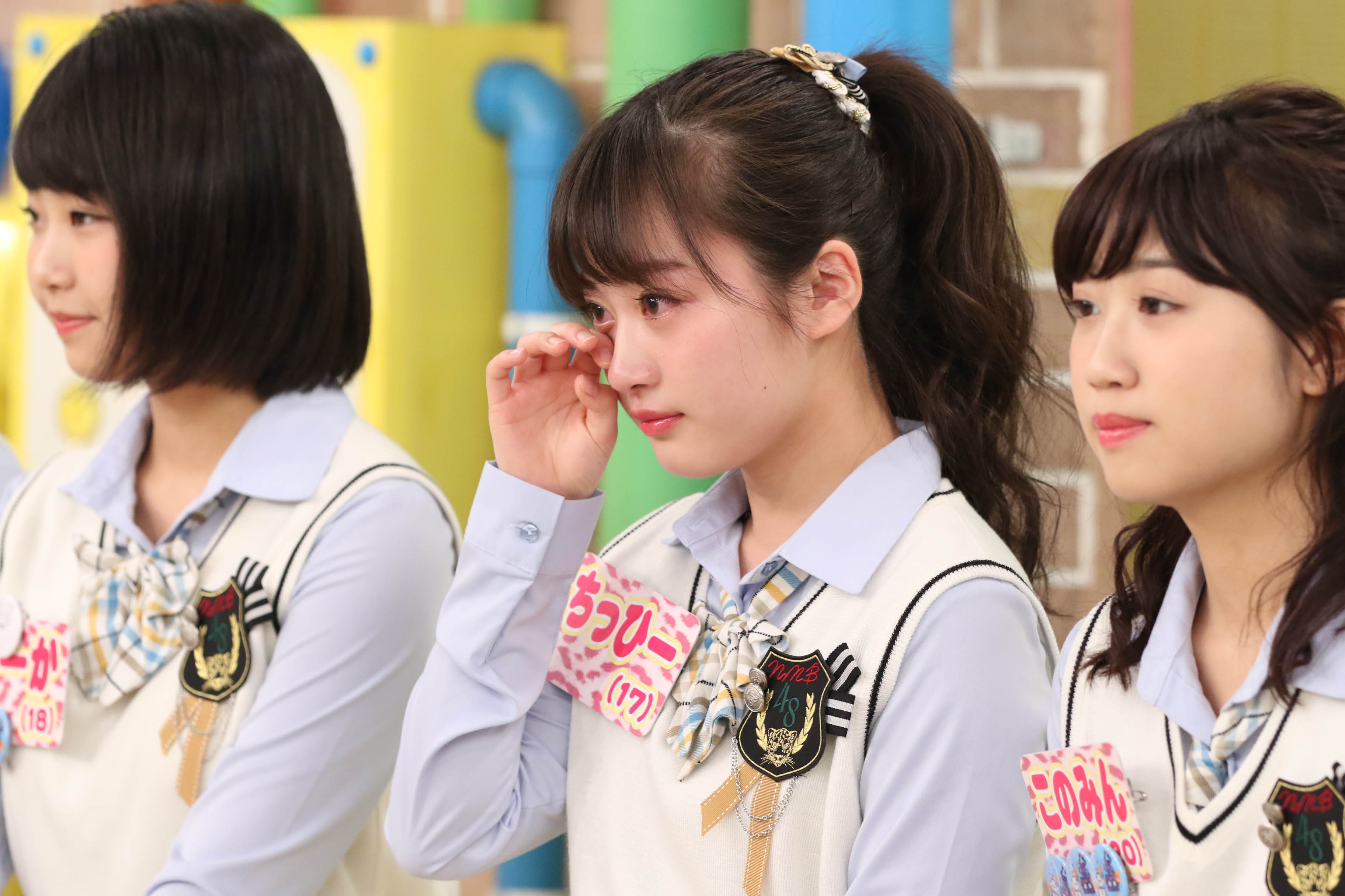 憧れの存在に思わず涙するNMB48の川上千尋
