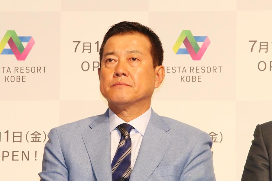 監督時代同様、熱いコメントを披露した原辰徳氏