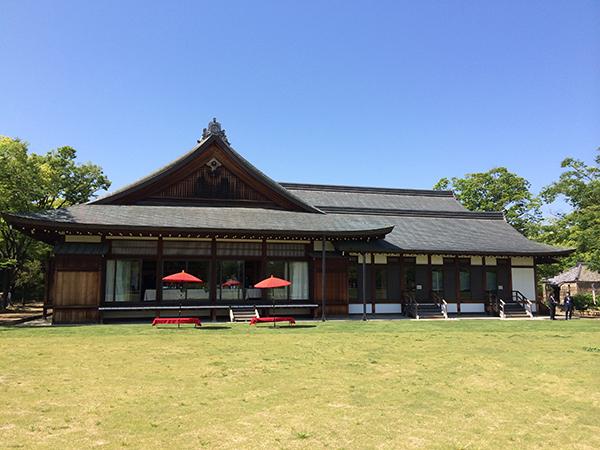 1995年に開催されたAPECのために築造された大阪迎賓館。世界の要人をもてなした館がリボーン