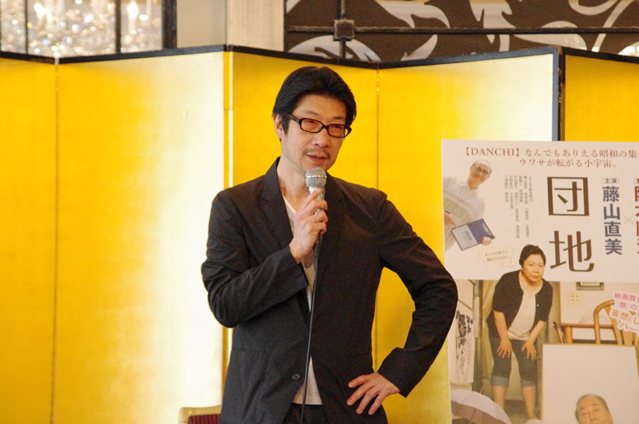 「遠いところに直美さんを連れて行きたかった」と語った阪本順治監督