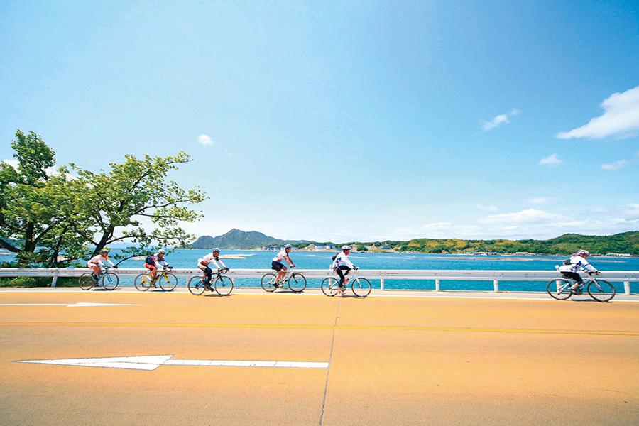 サイクリングにぴったりな、広島県西部に浮かぶ江田島