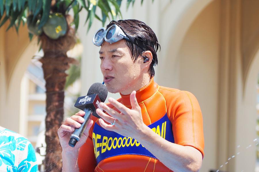 「錦織圭選手を含めジュニアにはやり過ぎ状態で教えてるんです」と語る松岡