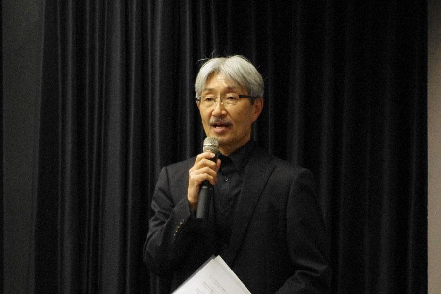 「来年は東京公演もやりたい」と意欲を見せる松原プロデューサー